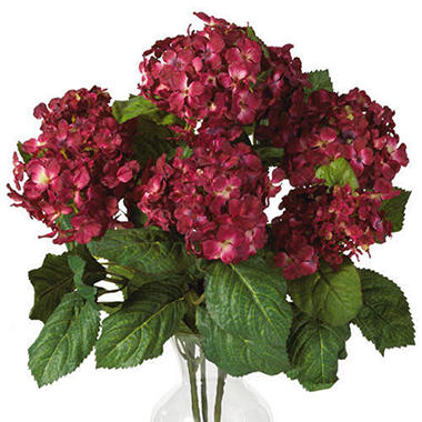 Hydrangea silk flower arrangement sams club hydrangea silk flower arrangement mightylinksfo