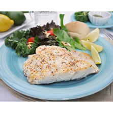 Fresh Grouper Fillets, Skinless (10 lb. box)