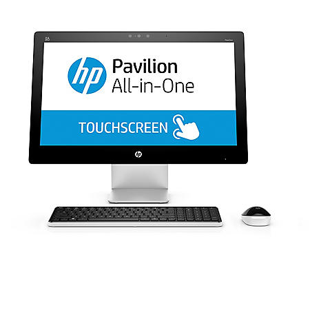 "HP Pavilion 23"" Touchscreen All-in-One 23-q137c, Intel Core i5-4460T, 6GB Memory, 1TB Hard Drive, Windows 10"
