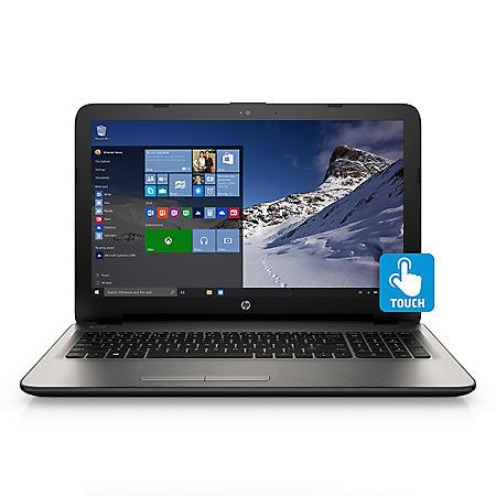 "HP 15.6"" Touch Notebook, Intel Core i5-5200U,8GB Memory, 1TB Hard Drive"