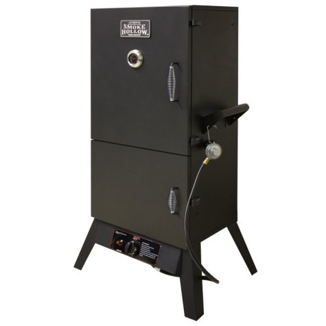 "Smoke Hollow 38"" LP Gas Smoker with 2 Doors"