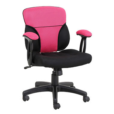 Reversible Pink And Melon Cover For Cool Task Chair   Cover Only