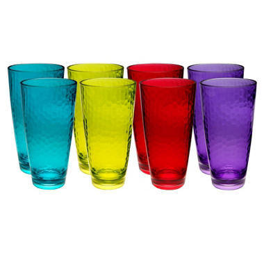 Tritan Tumblers with Hammered Finish - Various Colors