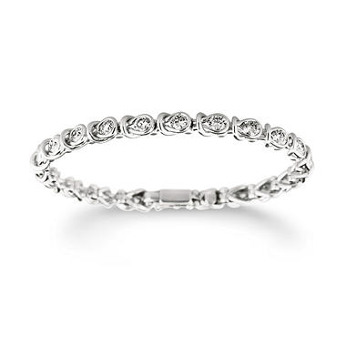 2.96 ct. t.w. Everlon™ Diamond Bracelet in 14K White Gold (I, I1)