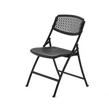 Mity Lite Flex One Folding Chair, Black - 4 pack