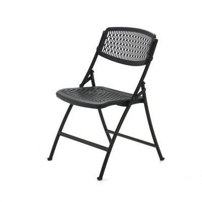 Mity Lite Flex One Folding Chair, Black, Choose A Quantity