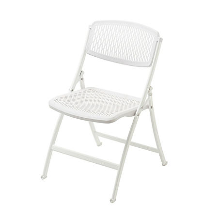 Mity Lite Flex One Folding Chair, White - 4 pack