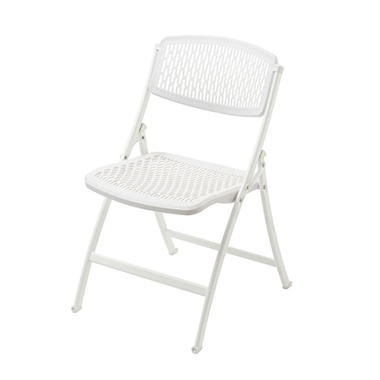 Mity Lite Flex One Folding Chair, White