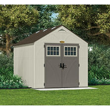 Suncast 8' x 10' Tremont Storage Shed