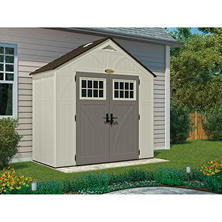 Suncast 8' x 4' Tremont Storage Shed