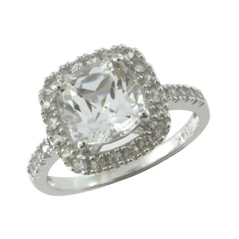 WHITE TOPAZ RING IN CLUB# 210386