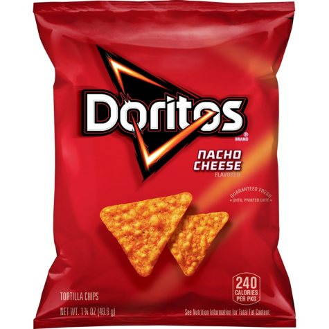 Doritos Nacho Cheese Chips (1.75 oz., 64 ct.)