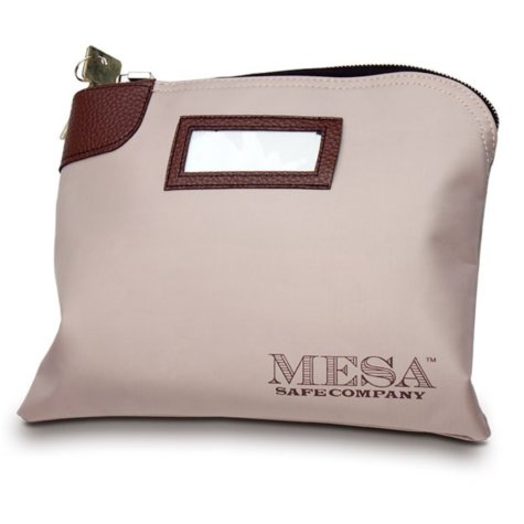 Mesa Safe Key Locking Deposit Bag