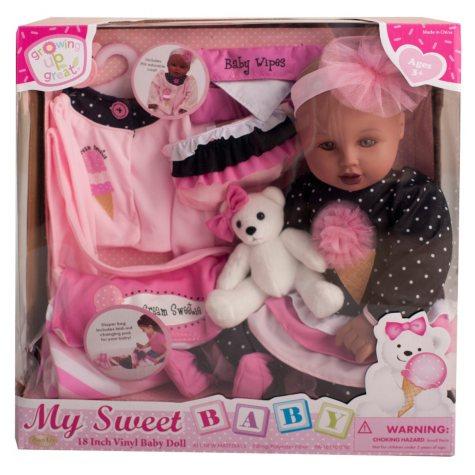 """18"""" Vinyl Baby Doll - Ice Cream Sweetie (D)"""
