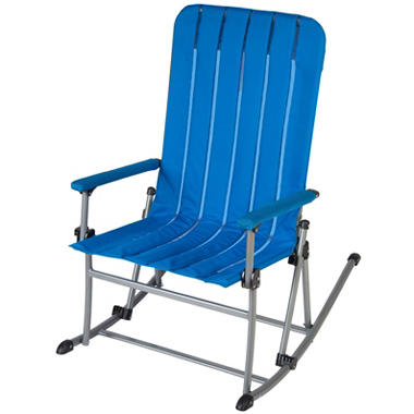 Portable Rocking Chair   Blue