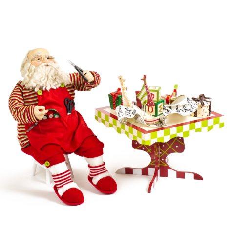 Fabric Santa Set - Table & Chair