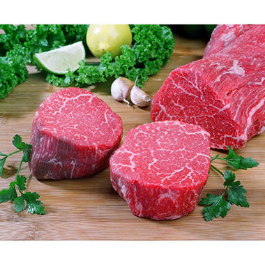 Kobe Beef of Texas Filet (6 oz. each, 4 pk.)