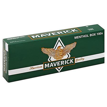 Maverick Menthol 100s Box (20 ct., 10 pk.)