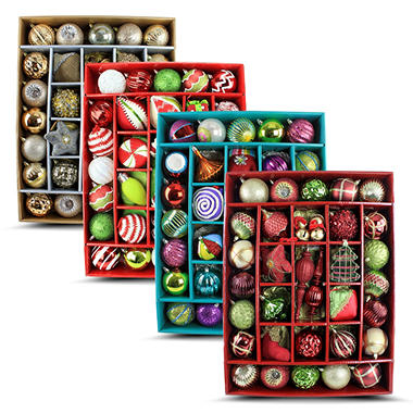 37 ct. Heirloom Ornaments - Choose Your Style and Color Options
