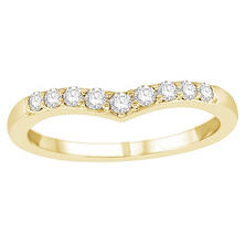 0.25 ct. t.w. Diamond Enhancer Ring in 14K Yellow Gold (H-I, I1)