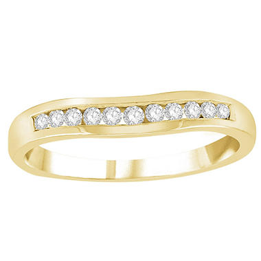 0.20 ct. t.w. Diamond Enhancer Band in 14K Yellow Gold (H-I, I1)