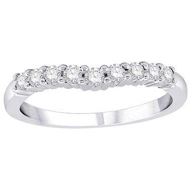 .32 ct. t.w. Diamond Enhancer Band in 14K White Gold (H-I, I1)