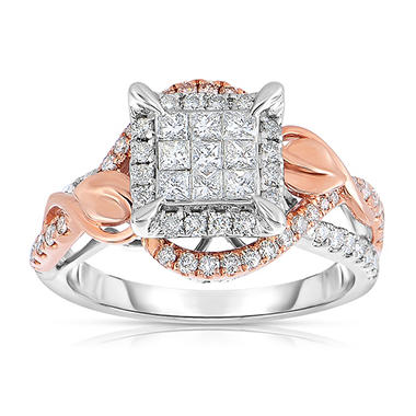 0.95 ct. tw. Diamond Engagement Ring in 14K Rose Gold