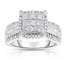 Diamond Engagement Rings Wedding Rings Sam S Club
