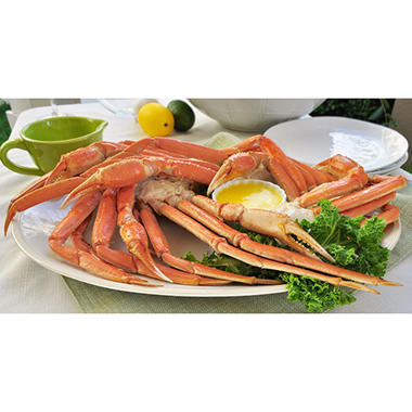 Snow Crab Clusters, Ready to Eat (10 lb.)