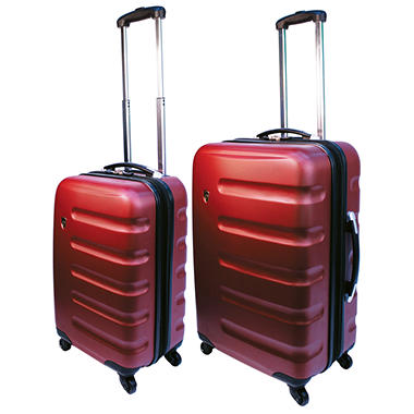 Heys Router 2pc Luggage Set Red