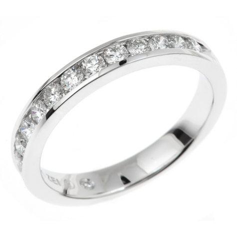 0.45 CT. T.W. Regal Diamond Band in 14K White Gold (I, SI2)