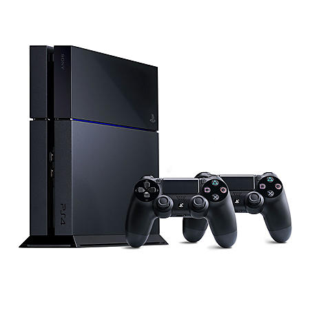 PlayStation 4 Console Bundle w/ Extra Controller