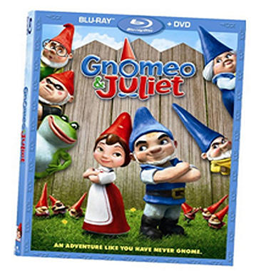 Gnomeo & Juliet Blu-Ray? DVD