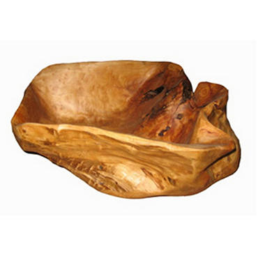 Hand Carved Burl Root Bowl