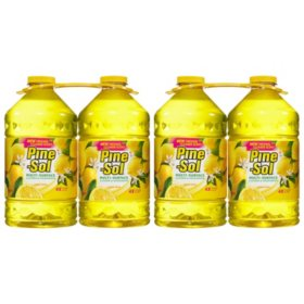 Pine-Sol Multi-Surface Disinfectant, Lemon Scent (100 oz., 4 pk.)