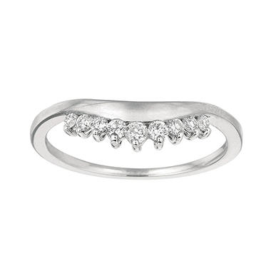 0.21 ct. t.w. Round-Cut Diamond Wrap Ring (I, I1)