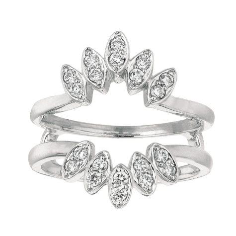 0.35 ct. t.w. Round-Cut Diamond Ring Guard (I, I1)
