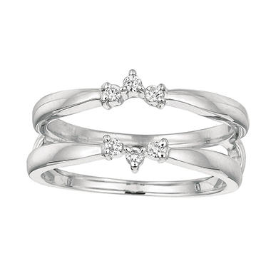 0.12 ct. t.w. Round-Cut Diamond Ring Guard (I, I1)