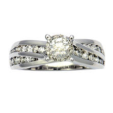 1.00 ct. t.w. Unique Brilliance Diamond Engagement Ring in 14K White Gold H-I, I1
