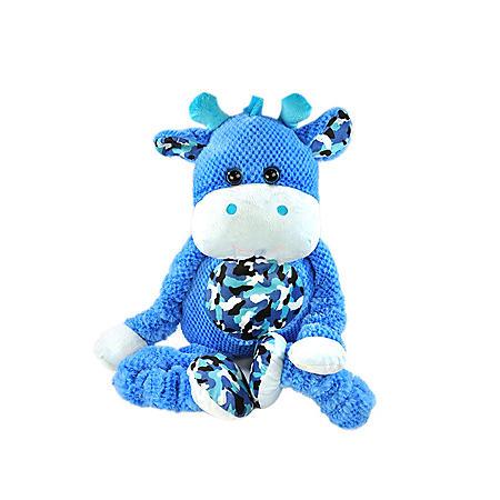 STRECH PLUSH ANIMALS BLUE GIRAFFE