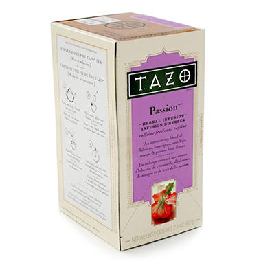 Tazo Tea Bags - Passion - 24 ct. - 6 pk.