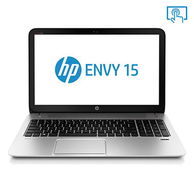 HP ENVY 15-j107cl Touchscreen Laptop Computer, AMD A10-5750M, 12GB Memory, 1TB Hard Drive