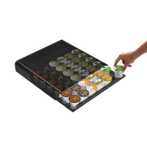 Mind Reader Coffee Pod Storage Clear Drawer - Various Colors