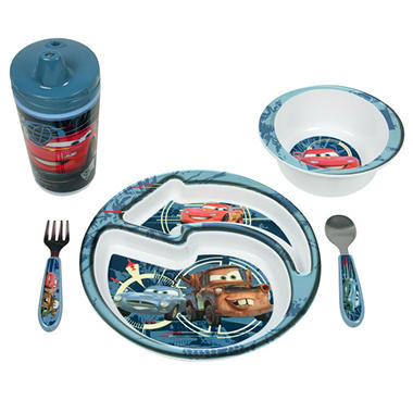 Disney Cars 2 Mealtime Set - 5 pc.