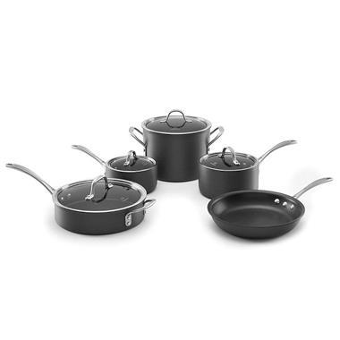 Calphalon Commercial 9 Piece Non Stick Cookware Set