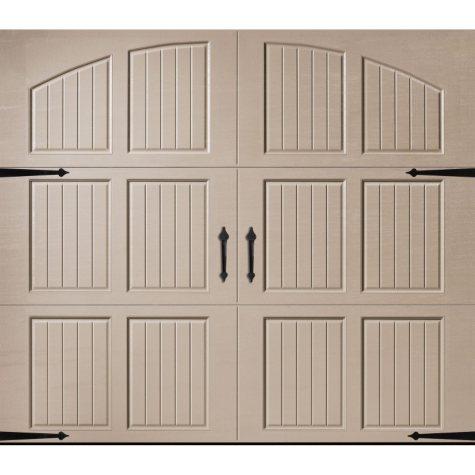 Amarr Classica 3000 Sandtone Carriage House Garage Door (Multiple Options)