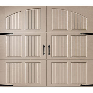 Amarr Classica 1000 Sandtone Carriage House Garage Door (Multiple Options)