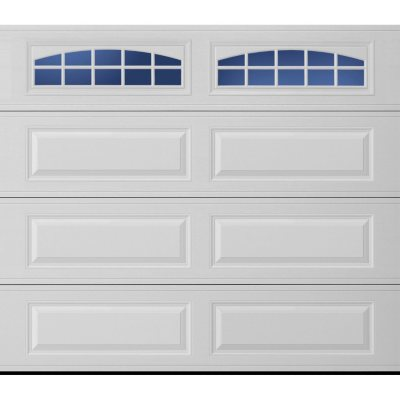 Amarr Stratford 3000 White Panel Garage Door (Multiple Options)