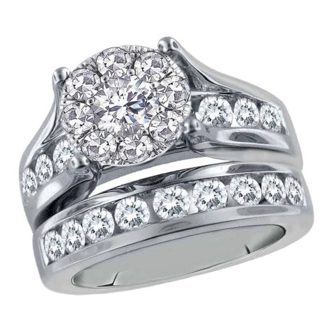 2.00 CT. T.W. Unity Diamond Engagement Set I, I1