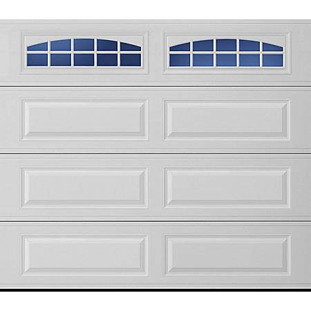 Amarr Stratford 2000 White Panel Garage Door (Multiple Options)